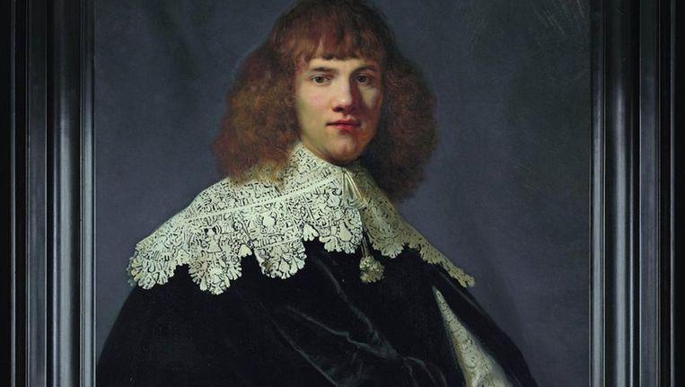 Het ontdekte portret van Rembrandt Beeld Hermitage