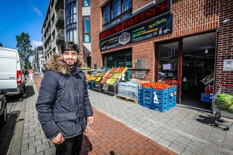 Jabran Kahn van Wasilamarkt wil de kans grijpen om zijn zaak te verbeteren.