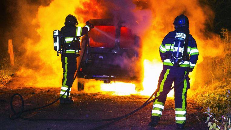 De brandweeracademie noemt de proef een succes Beeld anp