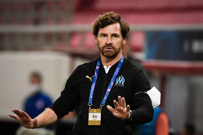 André Villas-Boas, nu trainer van Marseille.