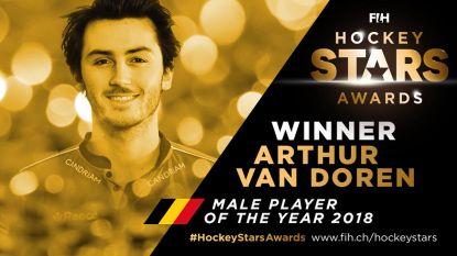 Red Lions pakken alle prijzen op Hockey Stars Awards, Van Doren andermaal beste hockeyer ter wereld