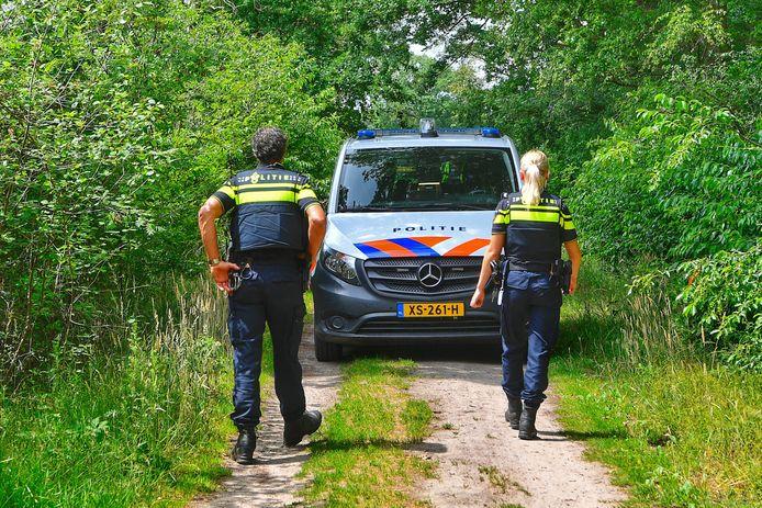 Verdachte vaten aangetroffen in Veldhoven.