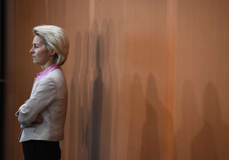 Ursula von der Leyen, de Duitse minister van Defensie Beeld anp