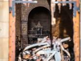 Kluis van door brand verwoeste kerk Hoogmade ongedeerd