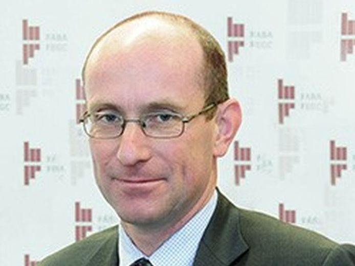 Frank Goes werd twee jaar geleden benoemd tot voorzitter van de Federatie van Algemene Bouwaannemers (FABA).