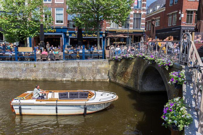 De grachten van Leeuwarden.