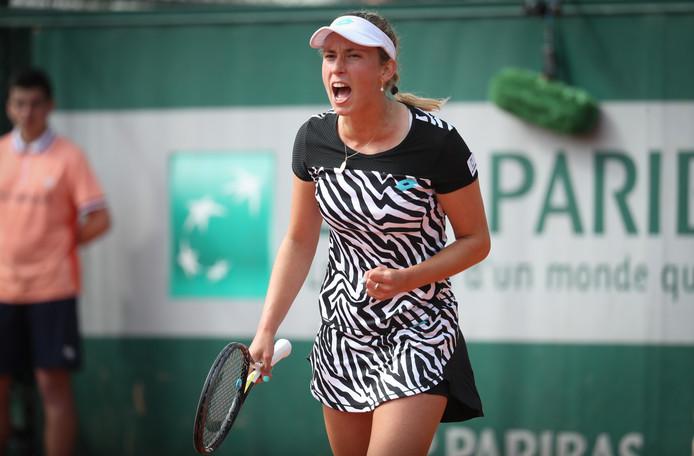 Elise Mertens s'est qualifiée pour le second tour de Roland-Garros.