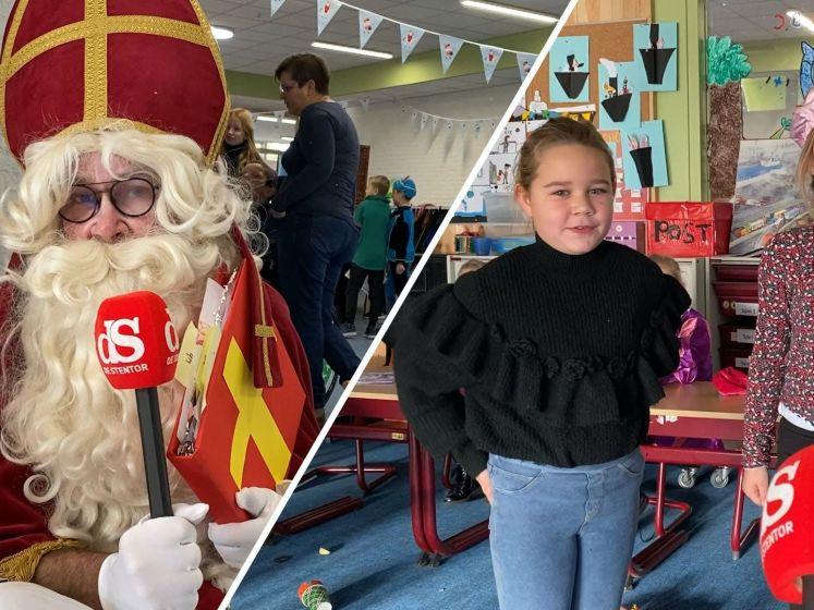 """Kinderen nerveus over Sint op school: 'Ik ben soms wel een beetje stout geweest"""""""