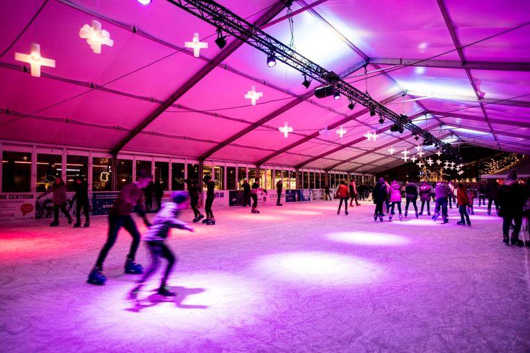 Schaatsen kan ook dit jaar weer in Genk