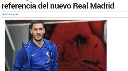 """Ook Spaanse kranten springen op dossier van Rode Duivel: """"Real Madrid wil tot 100 miljoen betalen voor Eden Hazard"""""""