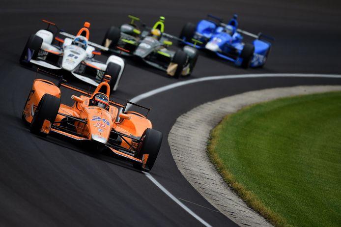 28 mei 2017: Fernando Alonso debuteert in de Indy 500.