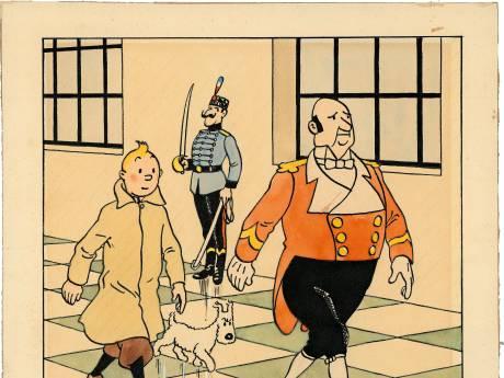 Une planche de Hergé atteint 394.000 euros