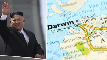 Noord-Korea richt vizier op Australische stad Darwin om nucleaire oorlog te beginnen