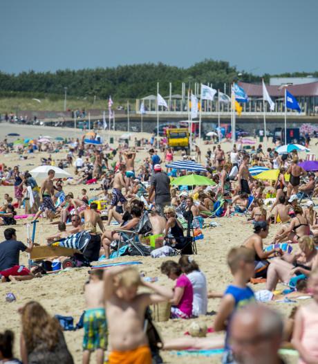 Tropisch warm! Zelfs aan het strand bijna 30 graden