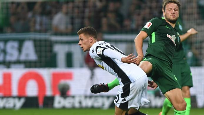 Très remuant, Thorgan Hazard a largement contribué à la victoire du Borussia