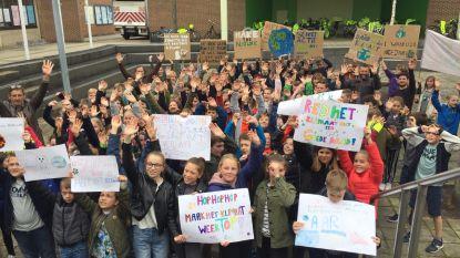 120 kinderen houden eigen klimaatconferentie