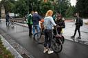 Blikjes en glaswerk mogen niet mee het park in Breda in.