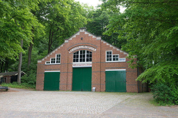 De 'Loods Goes' in het Openluchtmuseum in Arnhem.