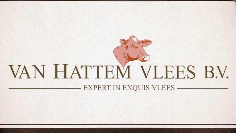 Het logo van Van Hattem Vlees . Beeld anp