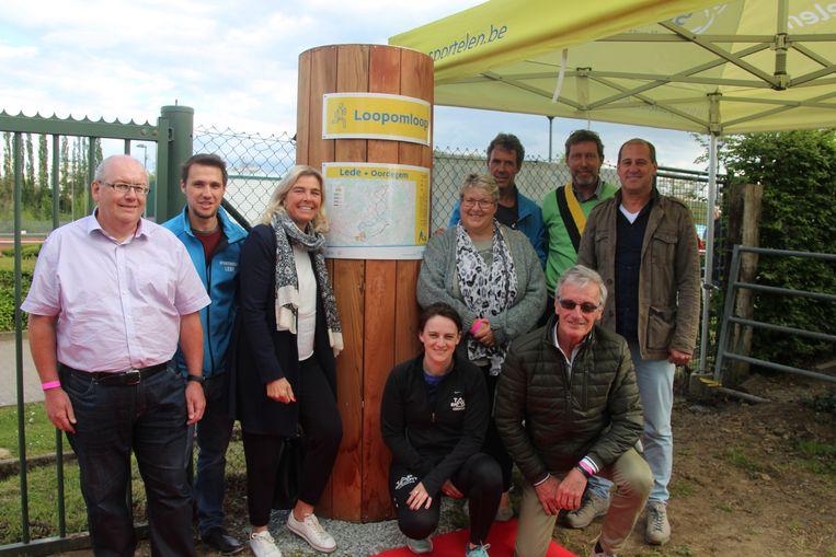 De nieuwe loopomloop met start op het Putbos Sport.Vlaanderen werd vrijdagavond geopend.