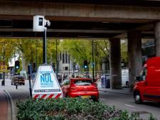 Een (tijdelijke) flitspaal aan de Cityring: 'Grandioos, de scheurpartijen zijn verleden tijd'