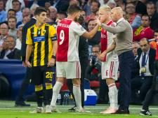 Ajacieden De Ligt en Huntelaar trainen apart in aanloop naar duel met PSV