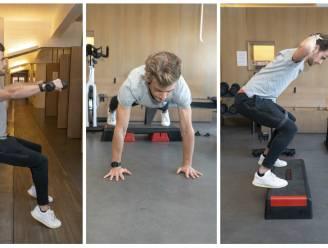 """Kinesist toont hoe je spieren kweekt door stil te staan: """"Ook professionele sporters gebruiken isometrische oefeningen"""""""