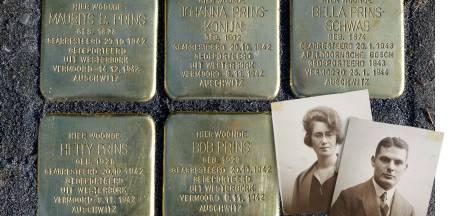 Glimmende monumenten voor vermoorde Joodse families: eerste 17 Stolpersteine in Dinxperlo gelegd