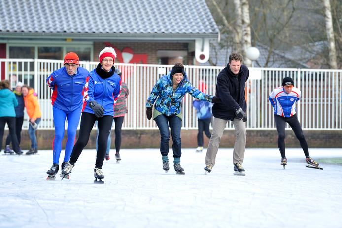 Schaatsers treffen komende winter een aangepakte ijsbaan aan.