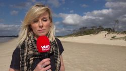 "Cathérine Moerkerke in Byron Bay: ""Hele gemeenschap zoekt mee naar Théo"""