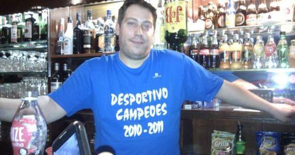 De doodgeschoten cafébaas Julio, broer van Bruno R.D.S.