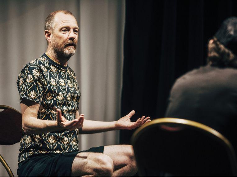 Kurt Overbergh: 'Er komen in de AB geen concertaanvragen meer binnen. Normaal zijn er dat 350 per week. Nu één, twee of drie.' Beeld