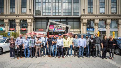 Toeterprotest tegen nieuw taxidecreet