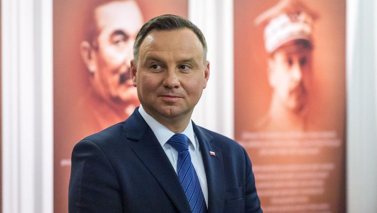Andrzej Duda. Beeld anp