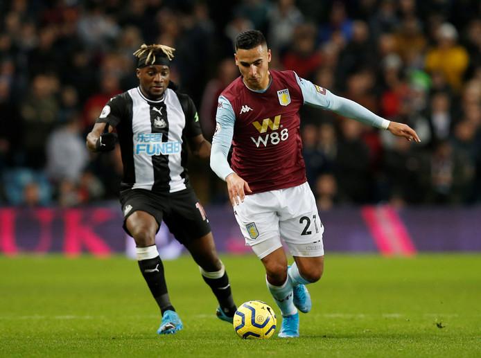 Anwar El Ghazi bloeit dit seizoen op bij Aston Villa.