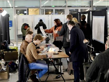 Opkomst stad Utrecht kruipt richting 50 procent