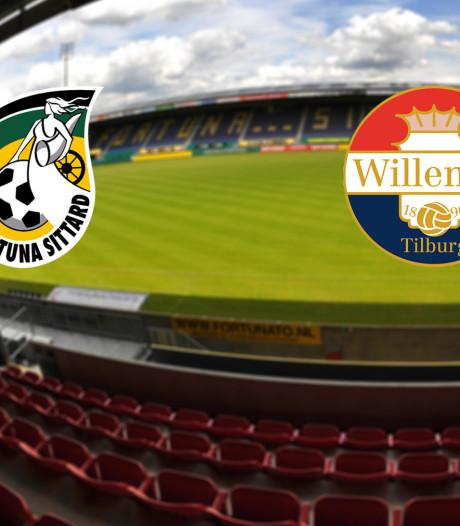 LIVE | Fortuna thuis tegen Willem II op zoek naar eerste overwinning
