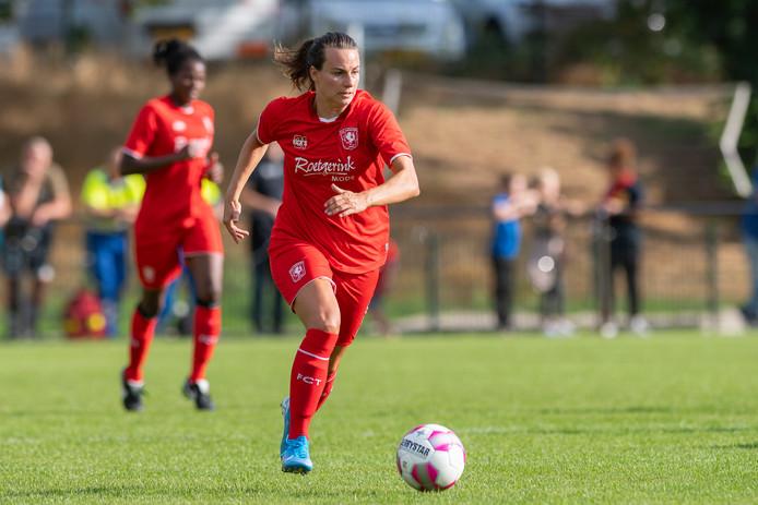 Renate Jansen begon in de basis, maar speelde de wedstrijd niet uit.