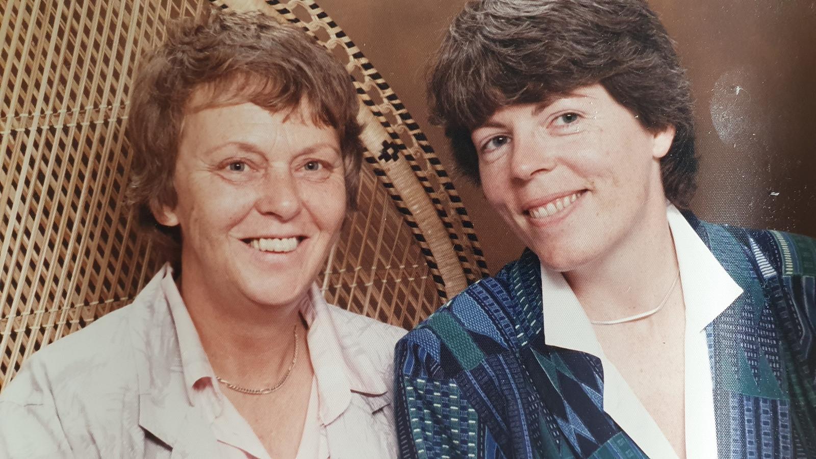 Els en haar echtgenote Cokky van Limpt.