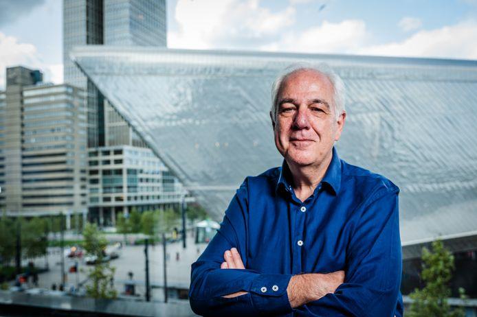 Directeur Johan Moerman van Rotterdam Festivals: 'We zijn heel blij met het verschuiven van het songfestival'.