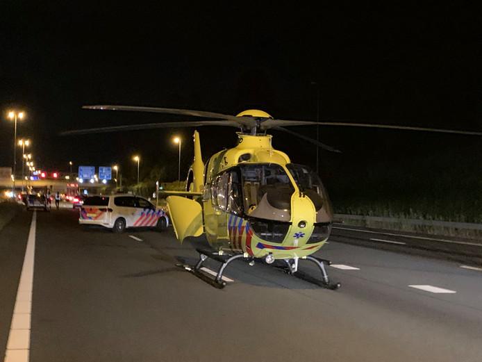 Ernstig ongeval op de A2 bij Den Bosch