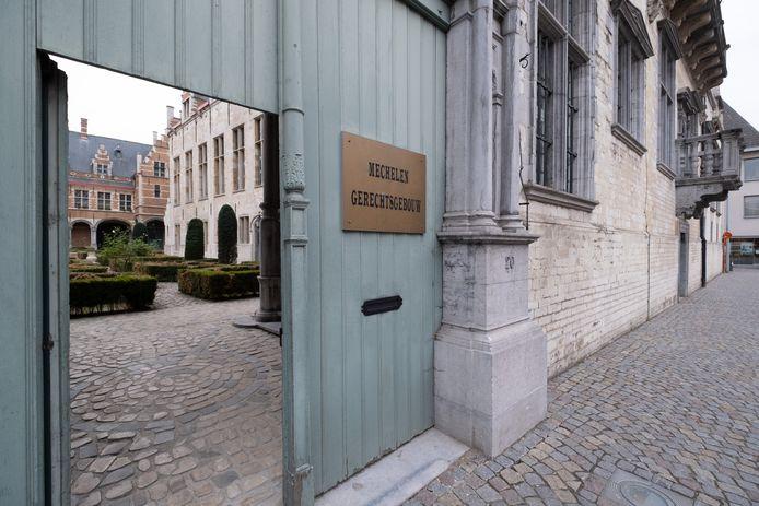 Het gerechtsgebouw van Mechelen.