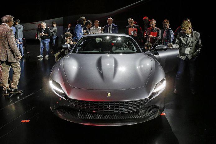 De onlangs onthulde Ferrari Roma komt waarschijnlijk wel als plug-in hybride op de markt, maar op een volledig elektrische Ferrari moeten we nog jaren wachten