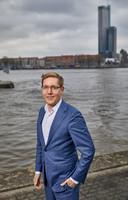 De Rotterdamse miliuewethouder Arno Bonte. 'Uitstel is geen afstel. De ambities blijven.'