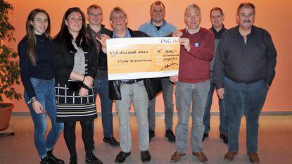 Hans Roelens brengt 5.000 euro op voor Plan International