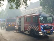 Veel rook bij schuurbrand in Arnhemse Oranjestraat