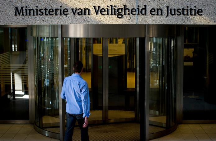 Ministerie van Veiligheid en Justitie.