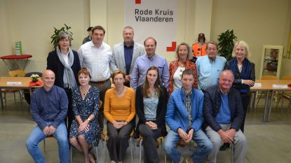 Rode Kruis telt 30 nieuwe cursisten