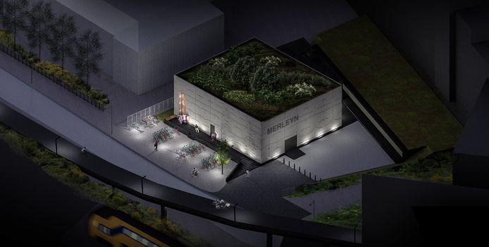Zo komt het nieuwe Merleyn er uit te zien. De Architect is Bo Kristiaan Janssen.