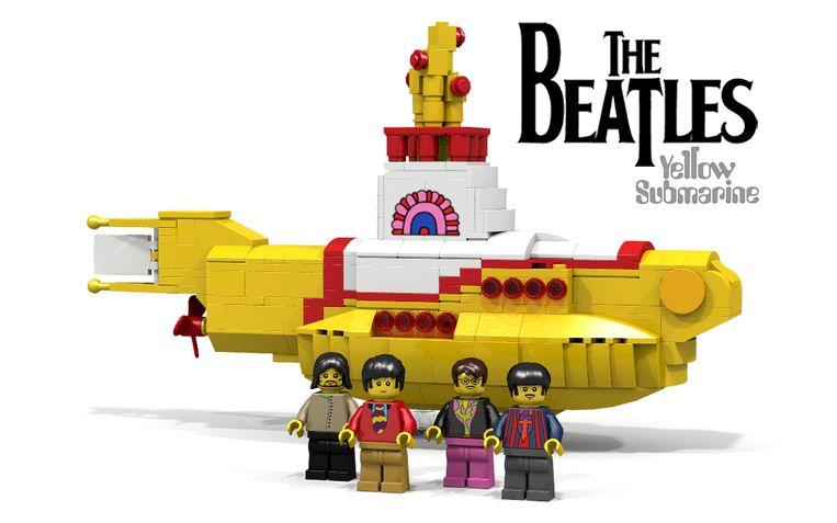 The Beatles van LEGO. Beeld LEGO Ideas